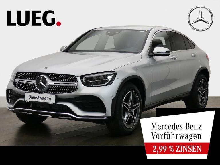 Mercedes-Benz GLC 200 4M Coupé AMG+19''+MBUX+DKL. GLAS+PTS+KAM, Jahr 2020, Benzin