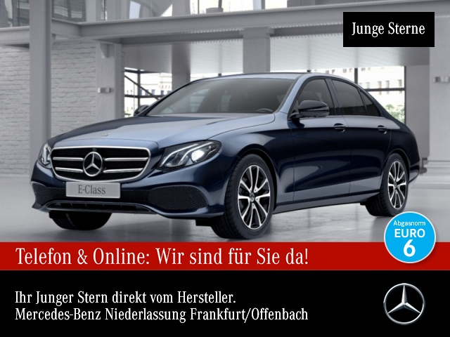 Mercedes-Benz E 200 Avantgarde WideScreen 360° Distr. COMAND, Jahr 2017, Benzin