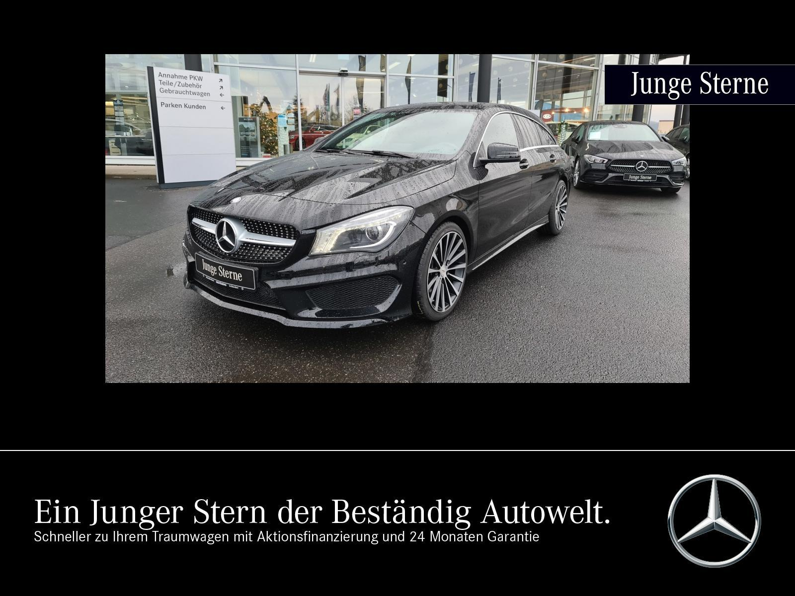 Mercedes-Benz CLA 200 Shooting Brake AMG Line +NAV+KLIMA+SHZ, Jahr 2015, Benzin