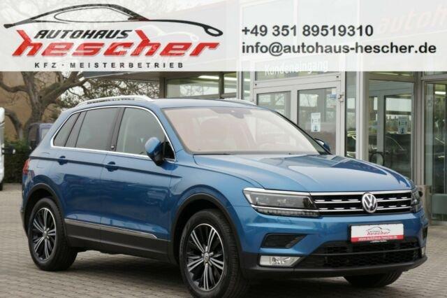 Volkswagen Tiguan 1,4 TSI DSG Sound *LED*NAVI*AHK*, Jahr 2017, Benzin