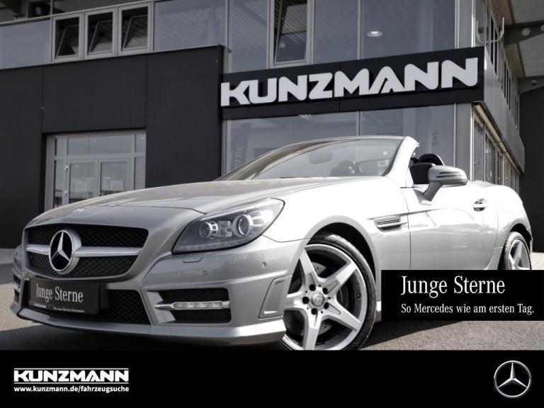 Mercedes-Benz SLK 250 CDI AMG Navi Panorama-Variodach LED, Jahr 2015, Diesel