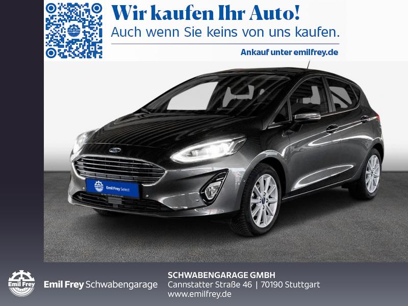 Ford Fiesta 1.0 EcoBoost S&S TITANIUM X, Jahr 2020, Benzin