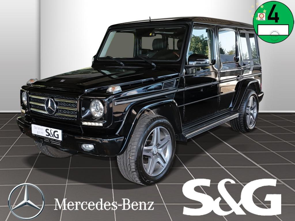 Mercedes-Benz G 500 COMAND/RüKa/AHK/Parkassistent/Schiebedach, Jahr 2013, Benzin