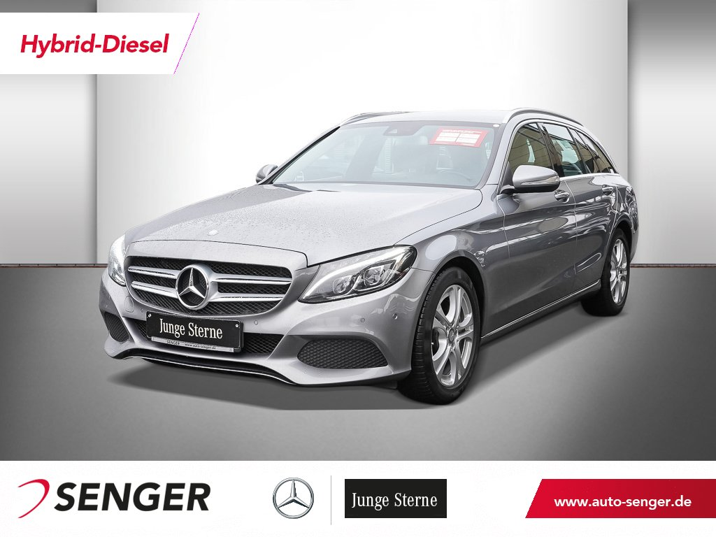 Mercedes-Benz C 300 h BT+AVANTGARDE+BUSINESS+COMAND-ILS+PARK-A, Jahr 2015, Hybrid_Diesel