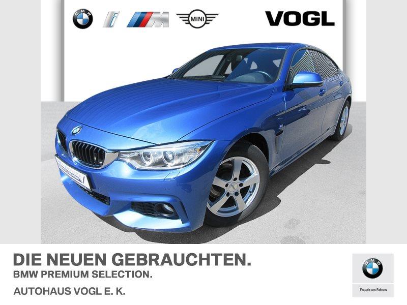 BMW 418d Gran Coupé M Sportpaket HiFi Xenon USB Shz, Jahr 2017, Diesel