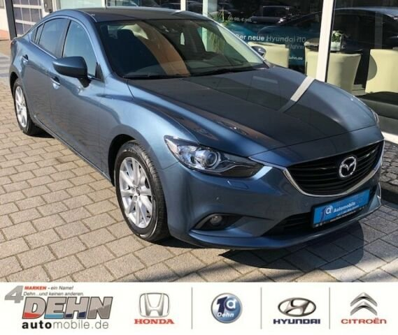 Mazda 6 2.0 SKYACTIV-G Center-Line Bluetooth Alu 1.Han, Jahr 2014, Benzin