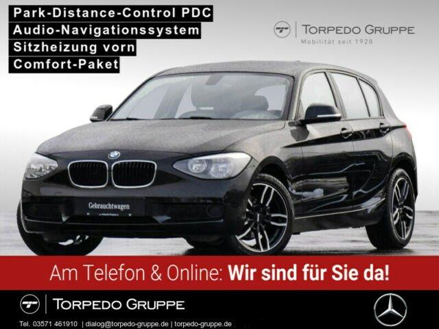 BMW BMW 114i 6-Gang NAVI BUSINESS+SHZ+PDC+KLIMA++, Jahr 2014, Benzin