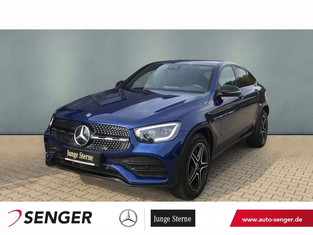 Mercedes-Benz GLC 400 d 4M Coupé AMG Line+AHK+Night+MBUX+LED, Jahr 2019, Diesel