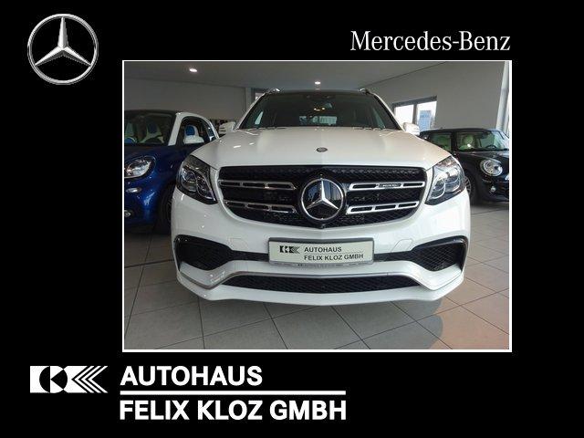 "Mercedes-Benz GLS 63 AMG 4M Active Curve AHK FAP 22"" DriversPa, Jahr 2017, petrol"