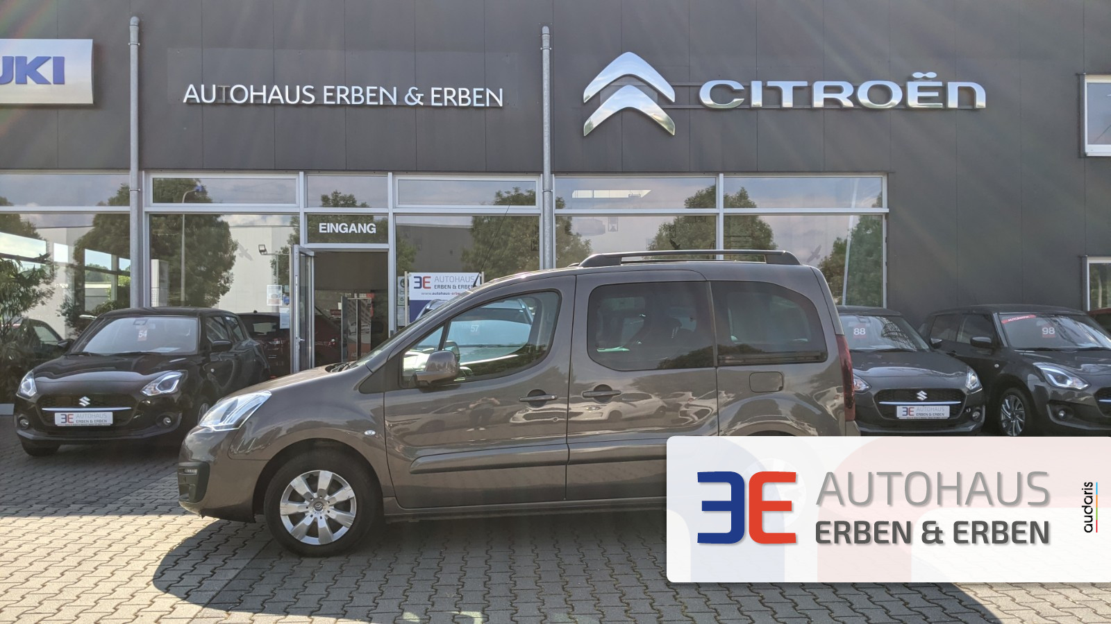 Citroën Berlingo Kombi Shine Blue HDi 120, Jahr 2017, Diesel