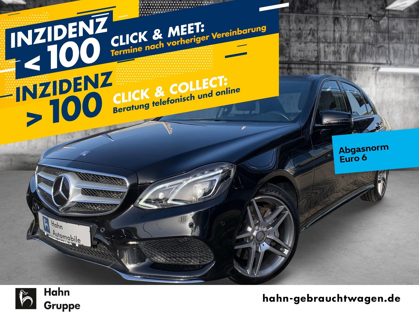 Mercedes-Benz E 400 4M AMG-Paket 7G-Tronic Navi LED Pano Luft, Jahr 2015, Benzin
