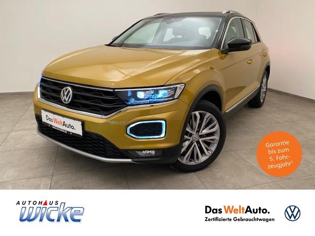 Volkswagen T-ROC 2.0TDI DSG 4Motion Style Klima ACC LED EU6, Jahr 2017, Diesel