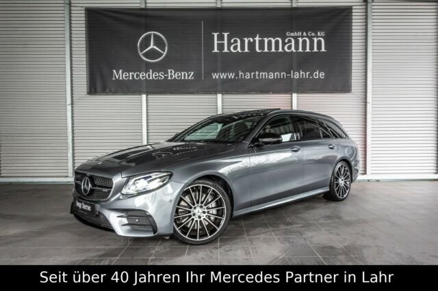 "Mercedes-Benz E 53 AMG 4M T Fahrassistenz Night 20"" Wide AHK, Jahr 2018, petrol"