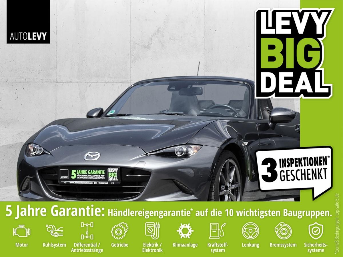 Mazda MX-5 Skyactiv-G 160i-Eloop Sports-Line *NAVI*SHZ, Jahr 2018, Benzin