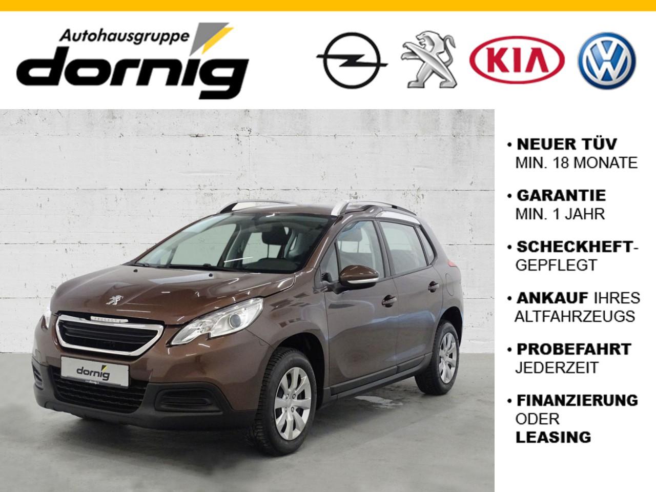 Peugeot 2008 Access 82 VTi, Klima, Radio, Jahr 2013, Benzin