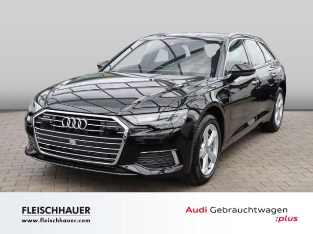 Audi A6 Avant 45 TDI qu. design Navi+LED+19''+Kamera+DAB+Leder+VC, Jahr 2020, Diesel
