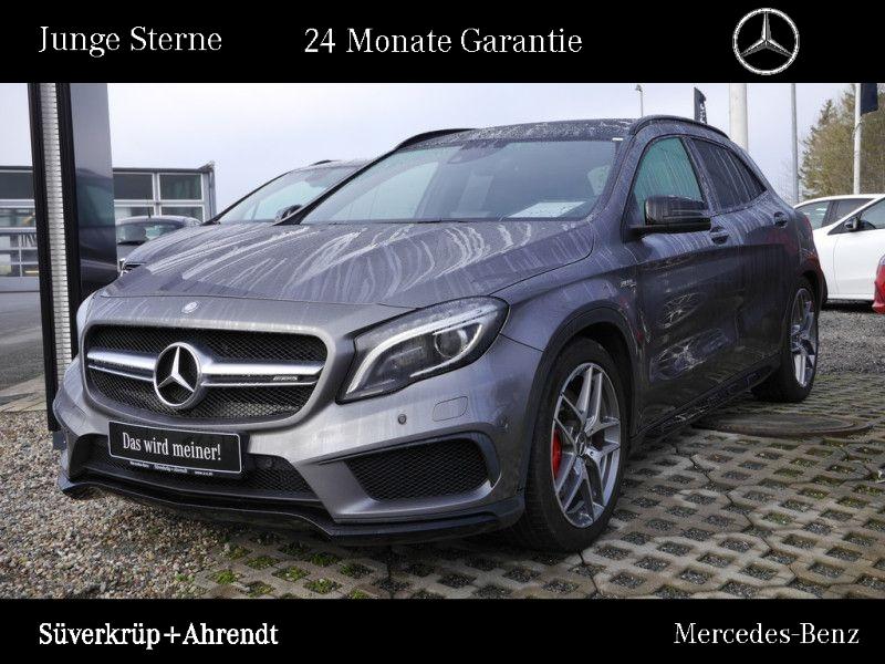 Mercedes-Benz GLA 45 AMG 4M Night Performance AbGas Comand ILS, Jahr 2015, Benzin
