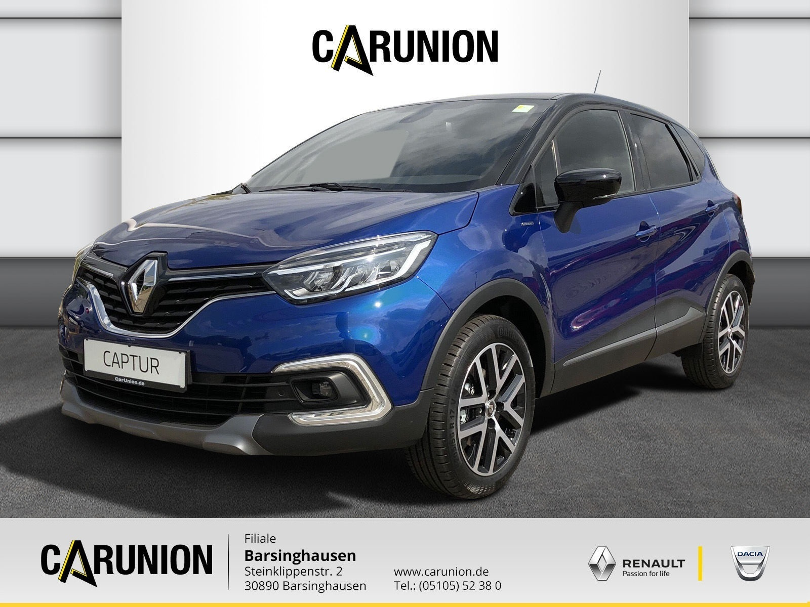 Renault Captur Version S TCe 150, Jahr 2018, Benzin