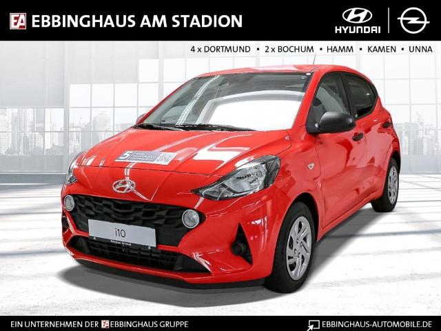 Hyundai i10 Pure 1.0 Euro6d-Temp/Bordcomputer 3,5 Zoll/Spurhalteassistent/Fensterheber/ZV, Jahr 2020, Benzin