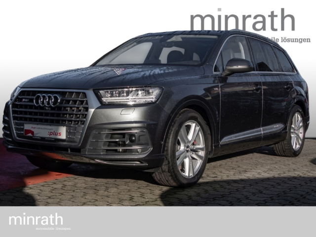 Audi SQ7 4.0 TDI quattro Matrix LED Leder Navi StandHZG Keyless Massagesitze, Jahr 2016, Diesel