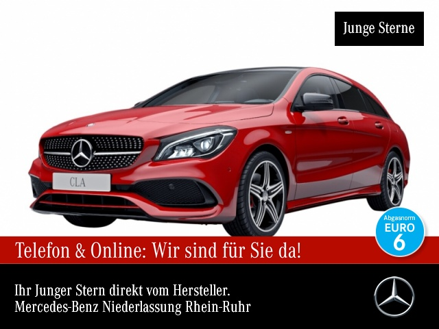 Mercedes-Benz CLA 250 SB 4M AMG Exkl-Paket Pano Harman LED Night, Jahr 2016, Benzin