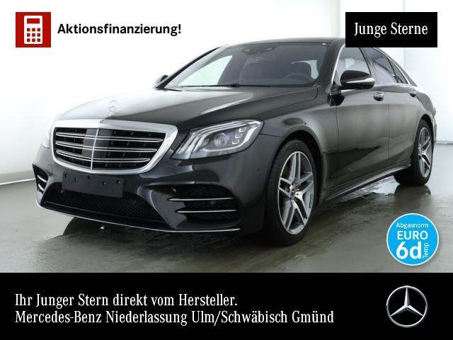 Mercedes-Benz S 560 4M AMG Nachtsicht Fondent 360° Pano Distr., Jahr 2018, petrol