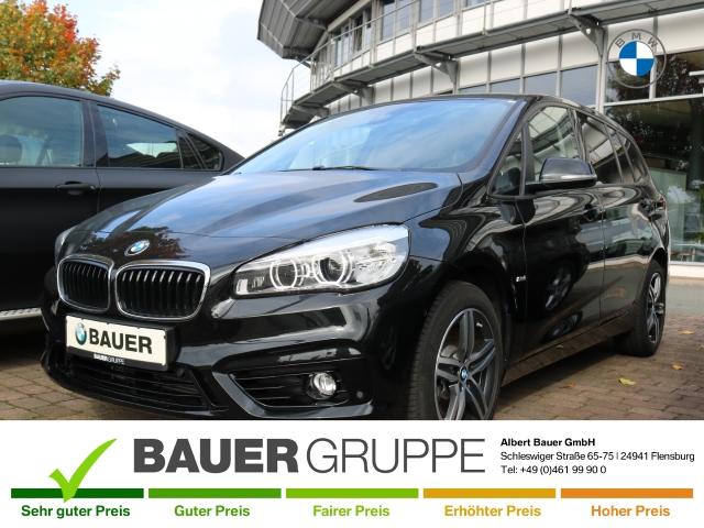 BMW 220 Gran Tourer i Sport Line LED Navi El. Heckklappe PDCv+h LED-Tagfahrlicht Multif.Lenkrad, Jahr 2017, Benzin