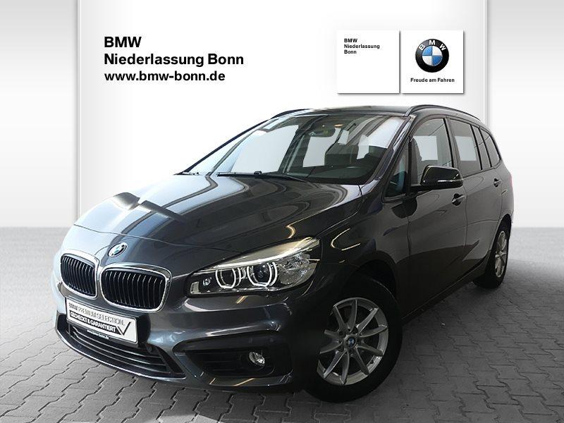 BMW 218i Gran Tourer Advantage, Jahr 2017, Benzin