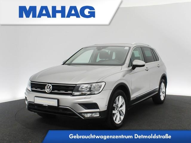 Volkswagen Tiguan 2.0 TDI 4mot. OFFROAD Comfortline Navi AHK Panorama Kamera eKlappe ParkAssist LaneAssist LightAssist 18Zoll DSG, Jahr 2016, Diesel