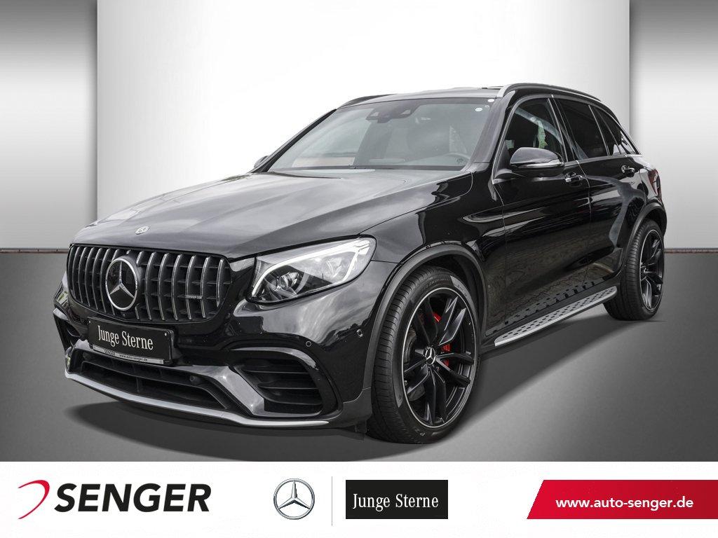 Mercedes-Benz GLC 63 S AMG+AHK+DAB-TUNER+COMAND+360°KAMERA+SHZ, Jahr 2019, Benzin