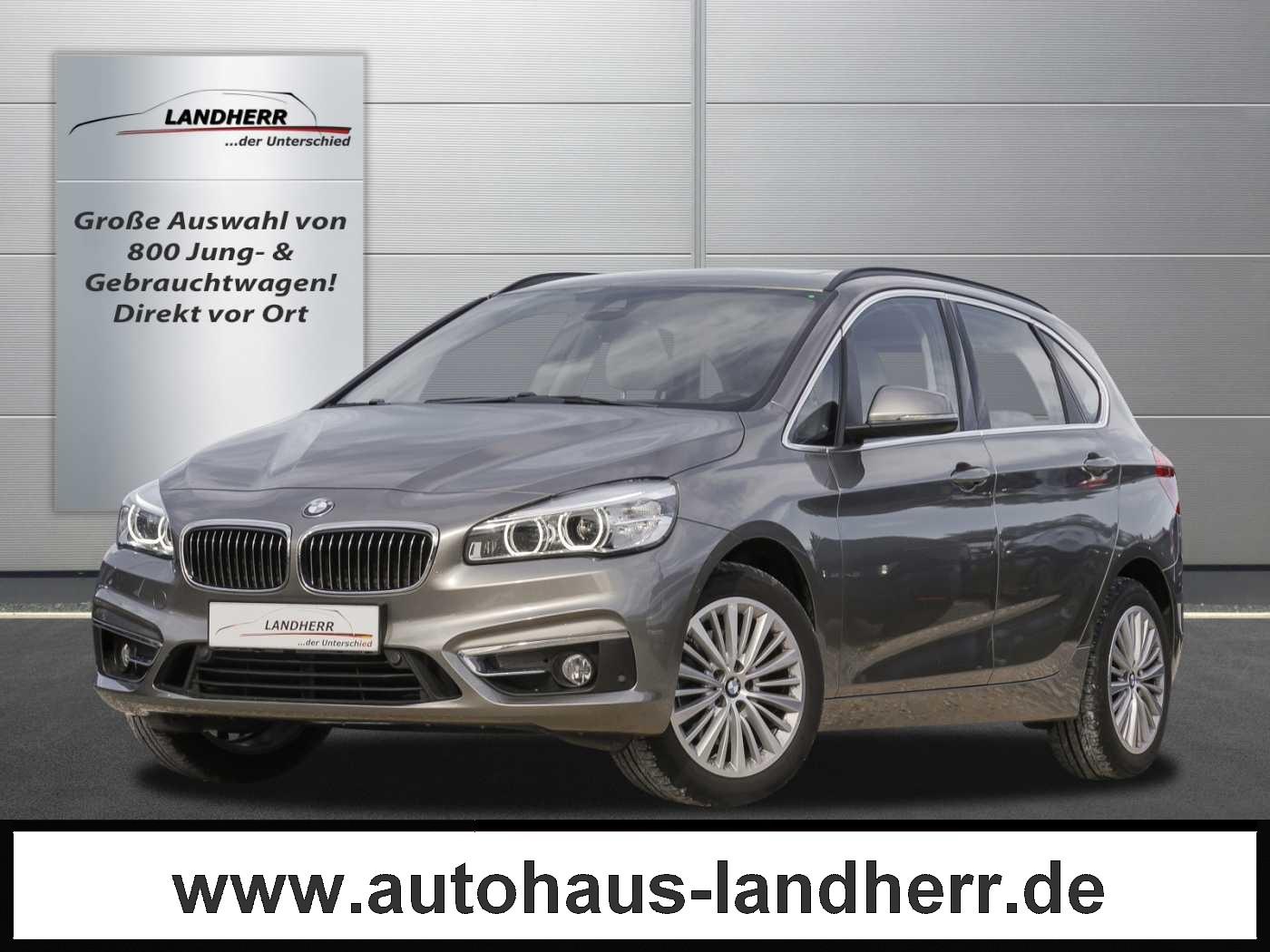 BMW 220d Active Tourer xDrive Aut. Luxury Line / Leder / Pano / NAVI / AHK, Jahr 2015, Diesel