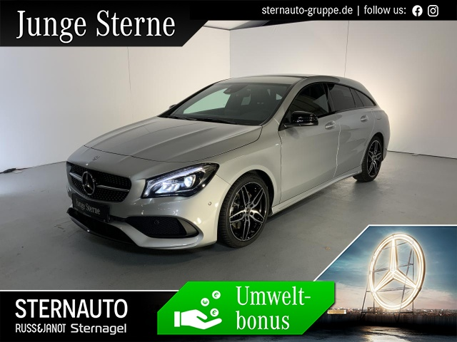 Mercedes-Benz CLA 250 Shooting Brake AMG Night-Paket KEYLESS-GO, Jahr 2018, Benzin