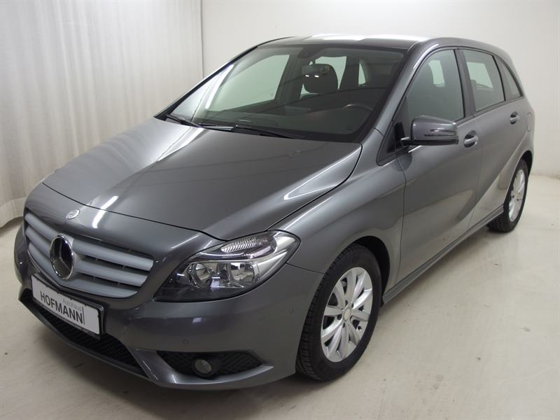 Mercedes-Benz B 180 (BlueEFFICIENCY)+Navi+AktiverParkAssistent, Jahr 2013, petrol
