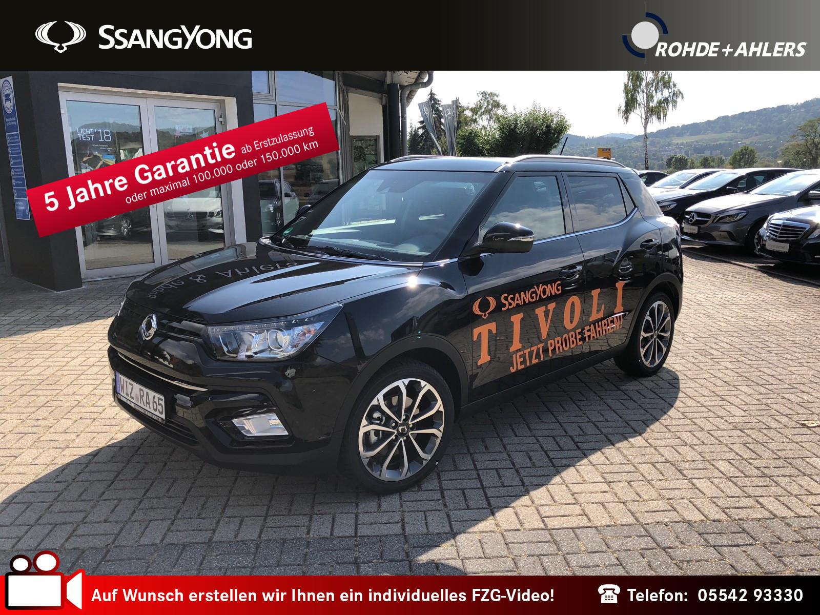Ssangyong Tivoli Sapphire 1.6 NAVI+KEYLESS+LEDER+KAMERA BC, Jahr 2018, Benzin