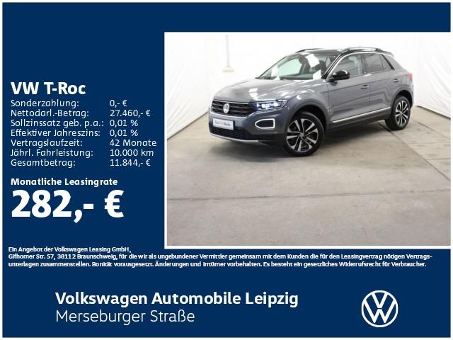 Volkswagen T-Roc 1.5 TSI ACT IQ.DRIVE*LED*ACC*Park-Assist*, Jahr 2020, Benzin