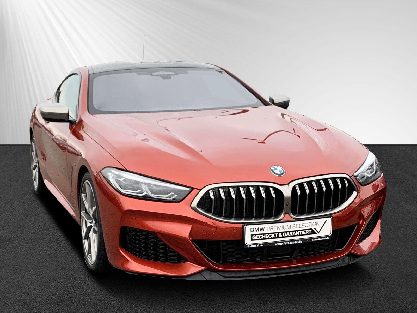 BMW M850i xDrive Coupe Leasing ab 899,- br. o. Anz., Jahr 2018, petrol