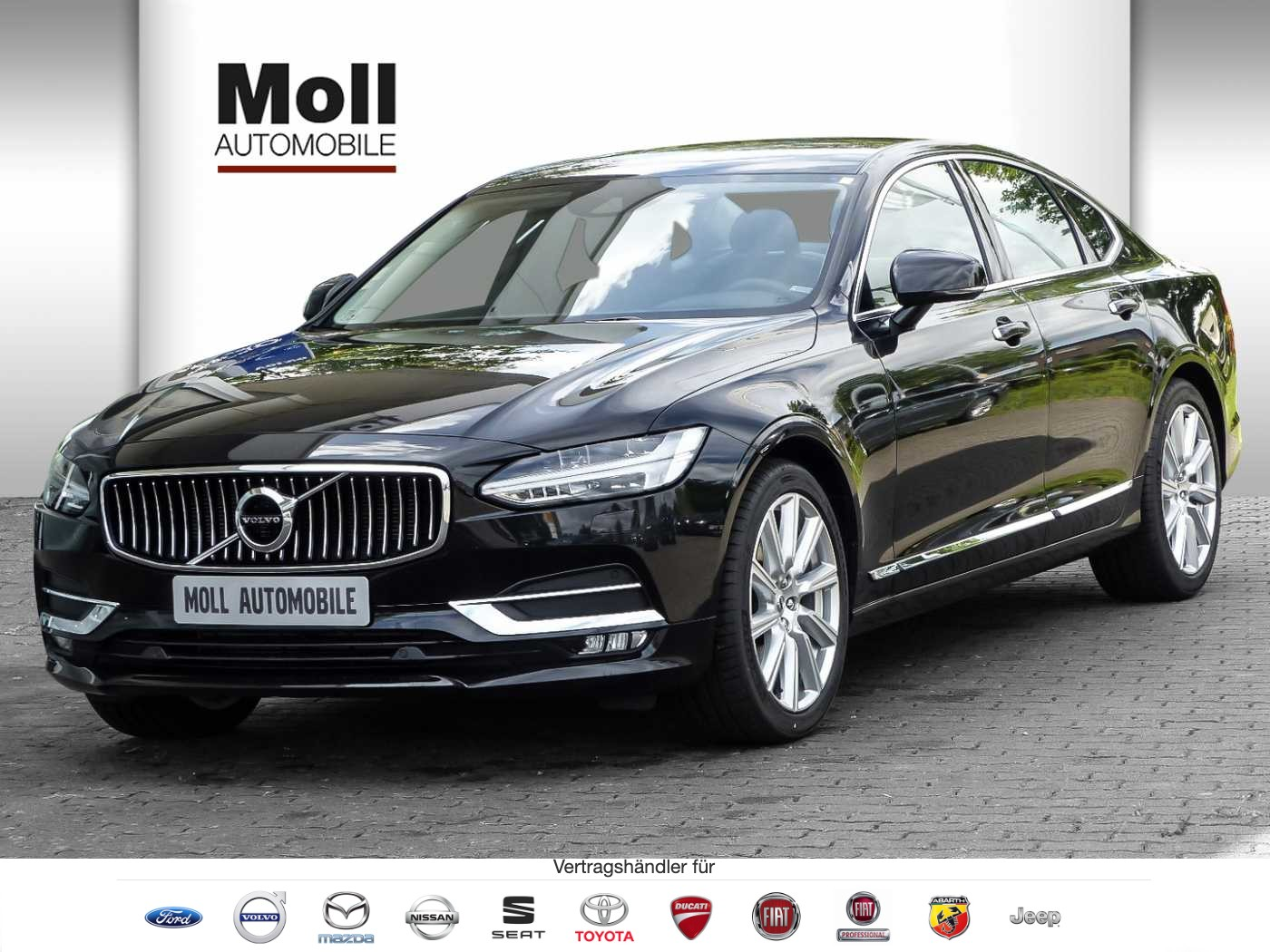 Volvo S90 T4 Geartronic Inscription Navi LED Kamera IntelliSafe, Jahr 2018, Benzin