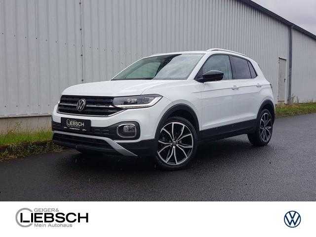 Volkswagen T-Cross Black Style 1.0 TSI DSG LED Navi ACC Kamara Front Assist Verkehrszeichenerkennung EU6, Jahr 2021, Benzin