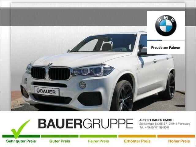 BMW X5 xDrive30d M-Sportpaket Leder Xenon Navi Keyless AD Kurvenlicht e-Sitze HUD Rückfahrkam., Jahr 2016, Diesel