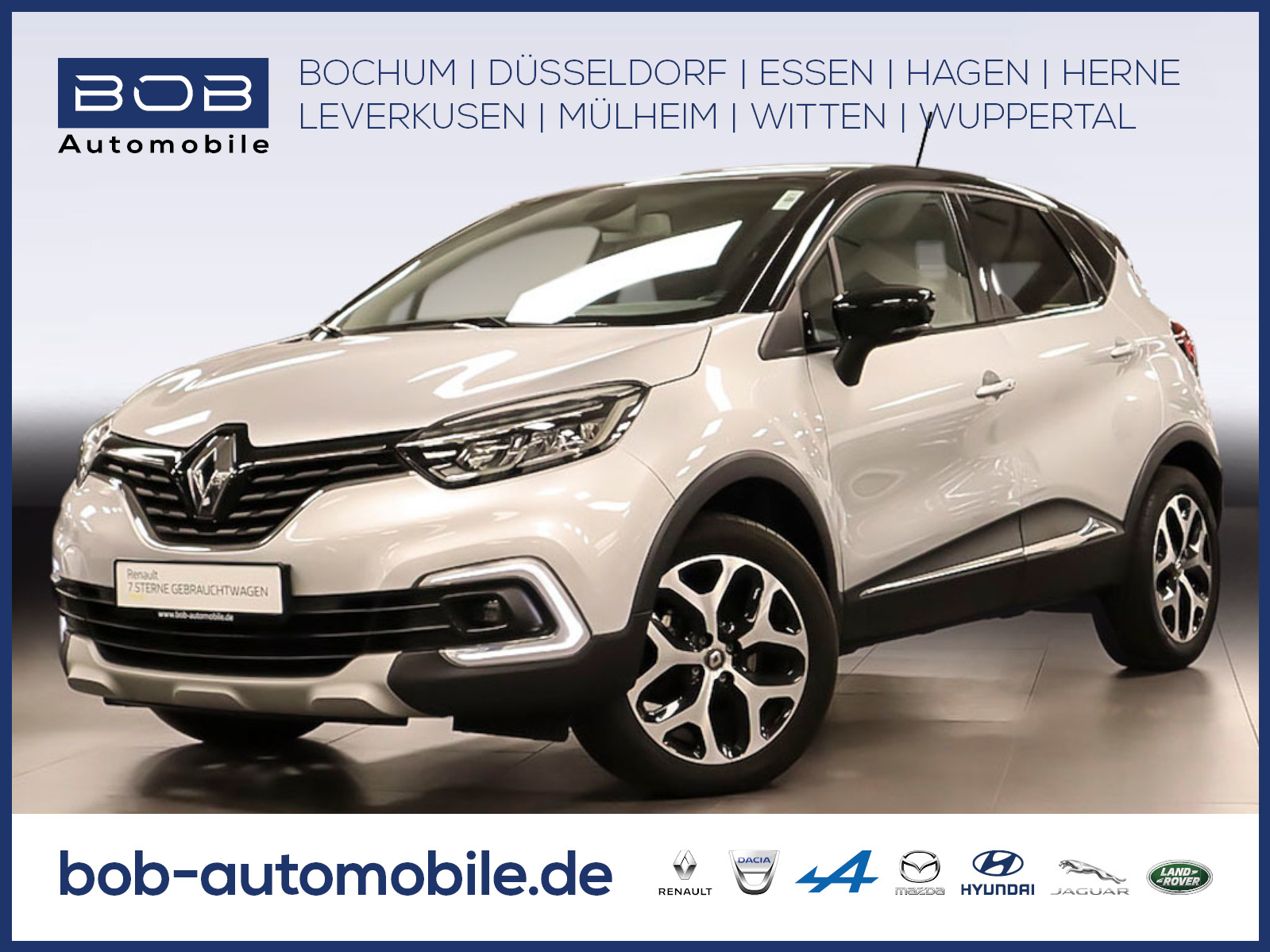 Renault Captur Collection TCe 130 GPF NAVI PDC KLIMA, Jahr 2019, Benzin
