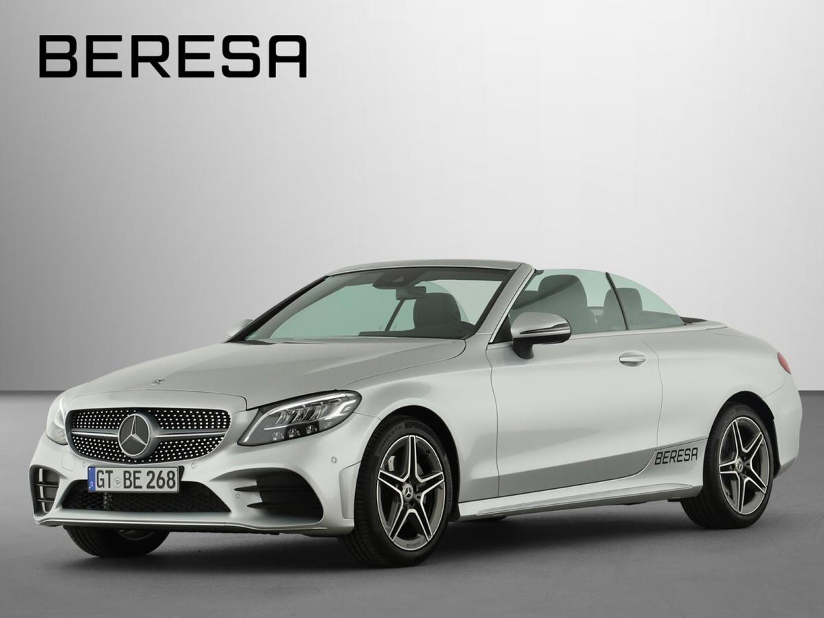 Mercedes-Benz C 180 AMG Spur-P. LED Kamera Navi PDC, Jahr 2020, Benzin