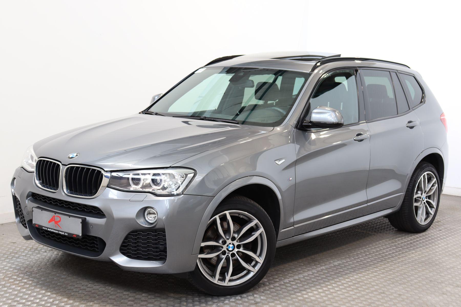 BMW X3 xDrive20d M SPORT NAVIPROF,19ZOLL,KAMERA,PANO, Jahr 2017, Diesel