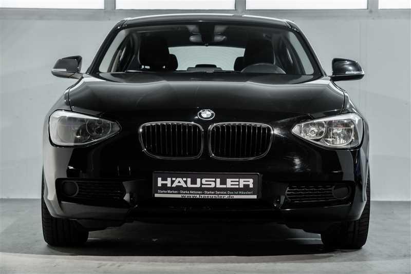 BMW 116, Jahr 2014, Benzin