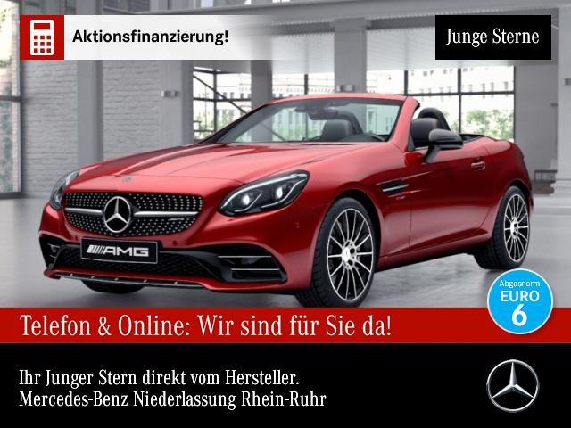 Mercedes-Benz SLC 43 AMG designo Pano COMAND ILS Airscarf PTS, Jahr 2018, Benzin