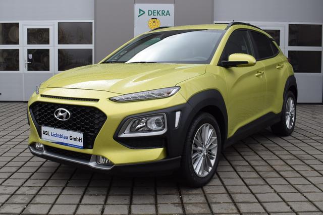Hyundai Kona Trend 2WD 1.0 M/T Navi AAC SHZ 1.0 T-GDi, Jahr 2018, Benzin