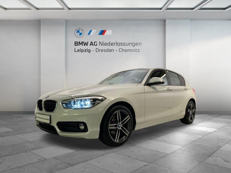 BMW 118i 5-Türer Sport Line EURO6 DAB LED Lenkradhz. Tempomat, Jahr 2017, Benzin