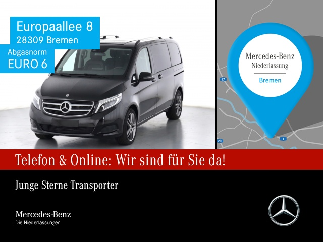 Mercedes-Benz V 250 d AVANTGARDE EDITION Kompakt Comand Kamera, Jahr 2019, Diesel
