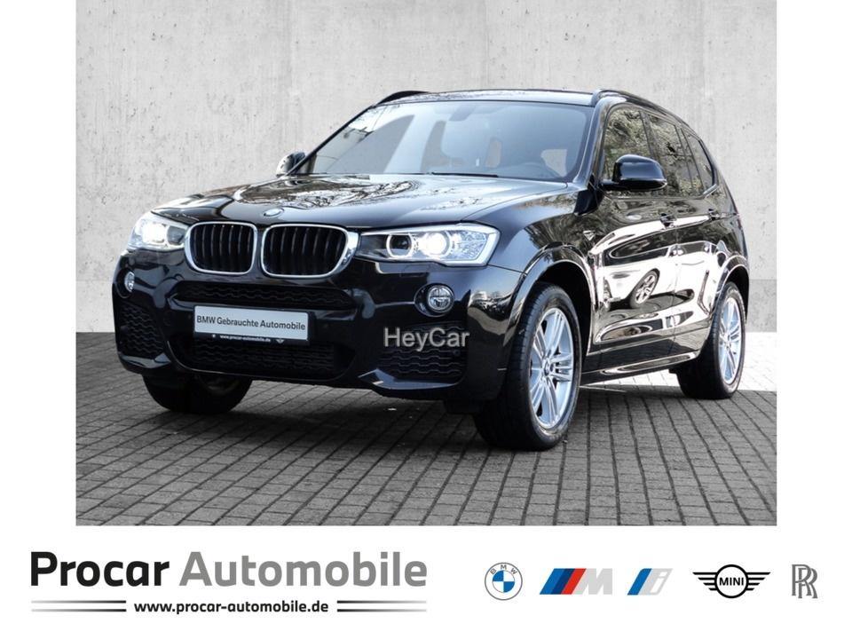 BMW X3 xDrive20d M SPORT AT M Sportpaket Klimaaut., Jahr 2017, Diesel