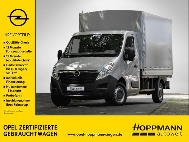 Opel Movano B Pritsche Plane Koffer L2H1 3,5t 2.3 CDTI 125 3, Jahr 2016, Diesel