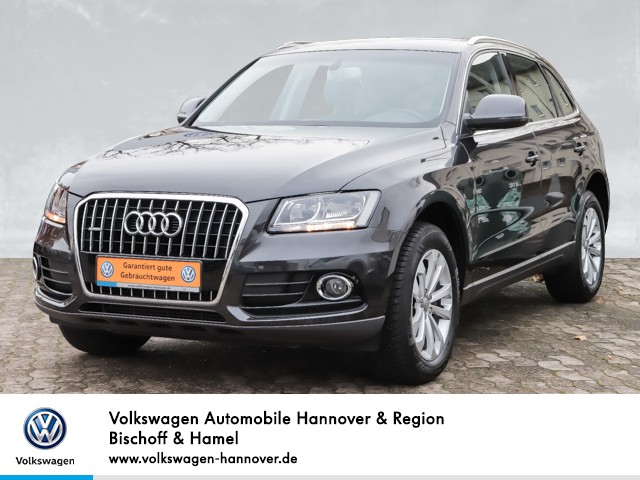 Audi Q5 2.0 TFSI quattro Navi Klima SHZ, Jahr 2013, petrol